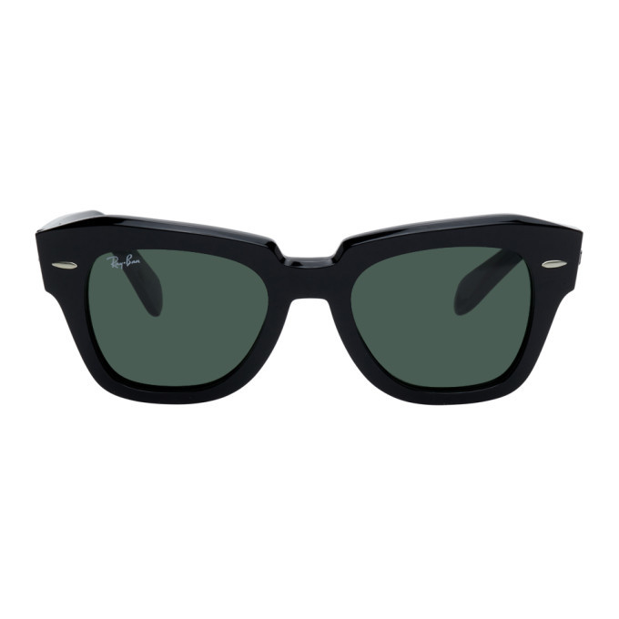 Photo: Ray-Ban Black State Street Icons Sunglasses