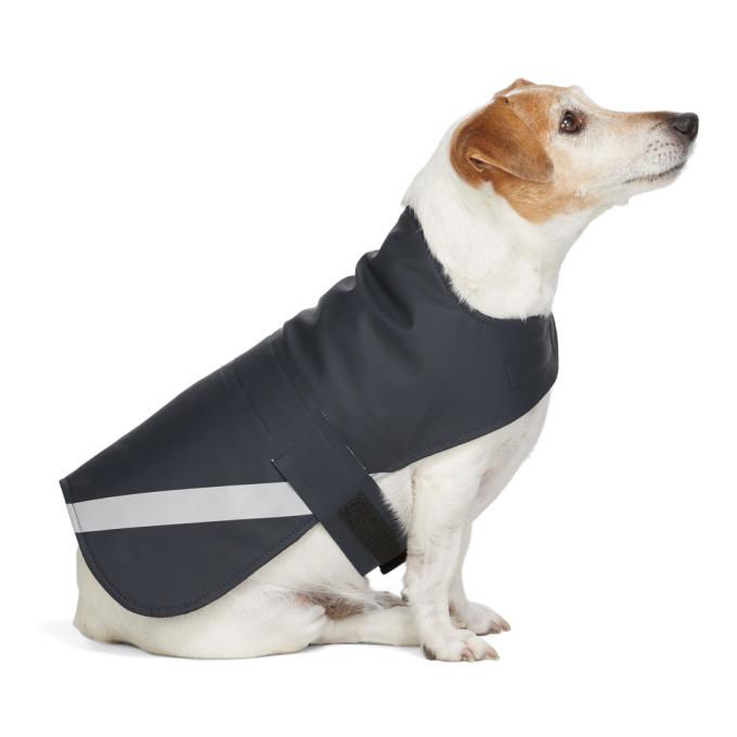 Photo: Stutterheim SSENSE Exclusive Navy PVC Lightweight Dog Raincoat