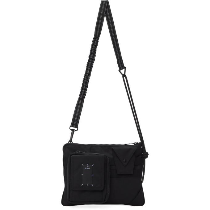 MCQ Black Hyper Crossbody Bag