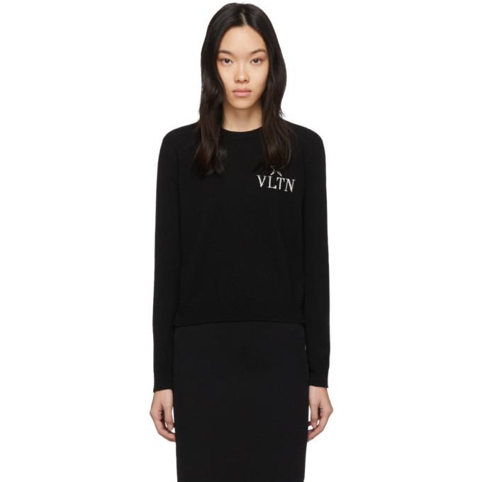 Photo: Valentino Black VLTN Star Crewneck Sweater