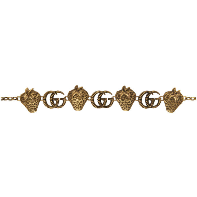 Photo: Gucci Gold Metal Chain Belt