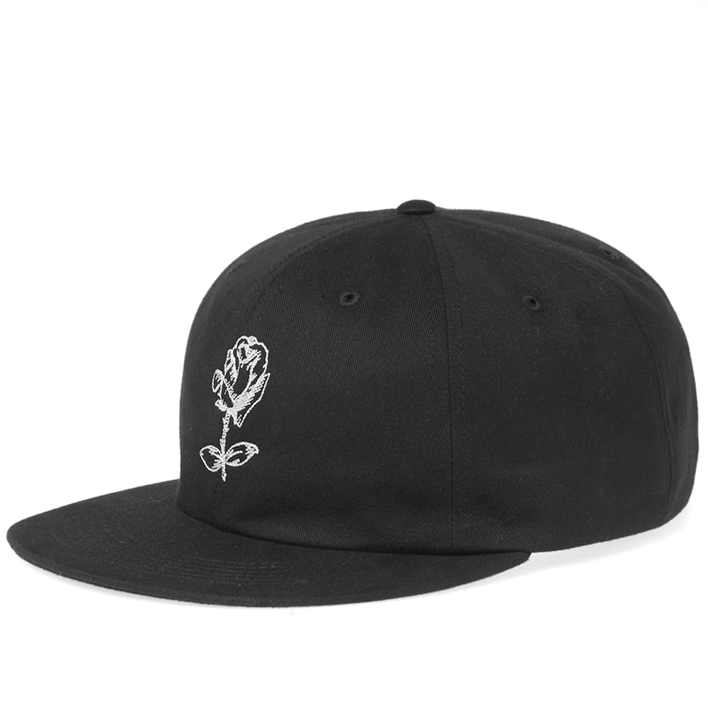 Photo: Soulland Pollie Rose Embroidery Baseball Cap