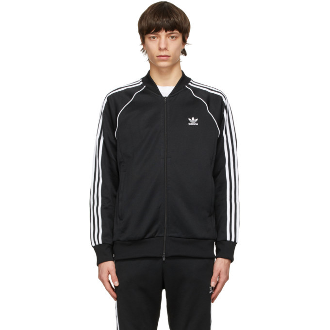 Photo: adidas Originals Black Adicolor Primeblue SST Track Sweater