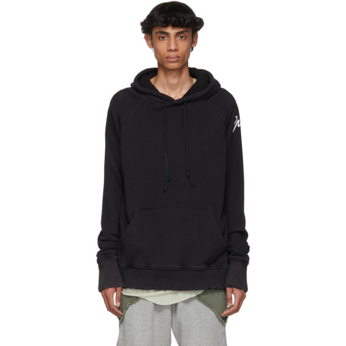 Photo: Greg Lauren Black GL Hoodie