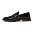 Common Projects Black Leather Loafers