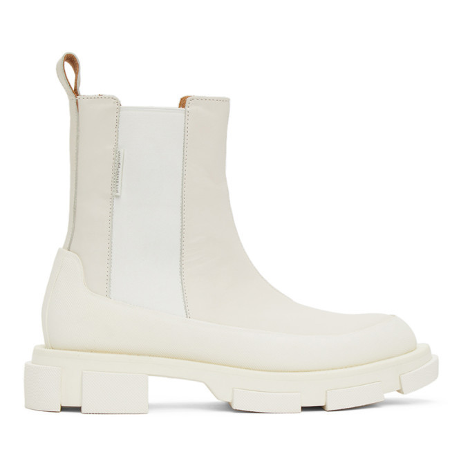 Photo: both Off-White Gao Chelsea Boots