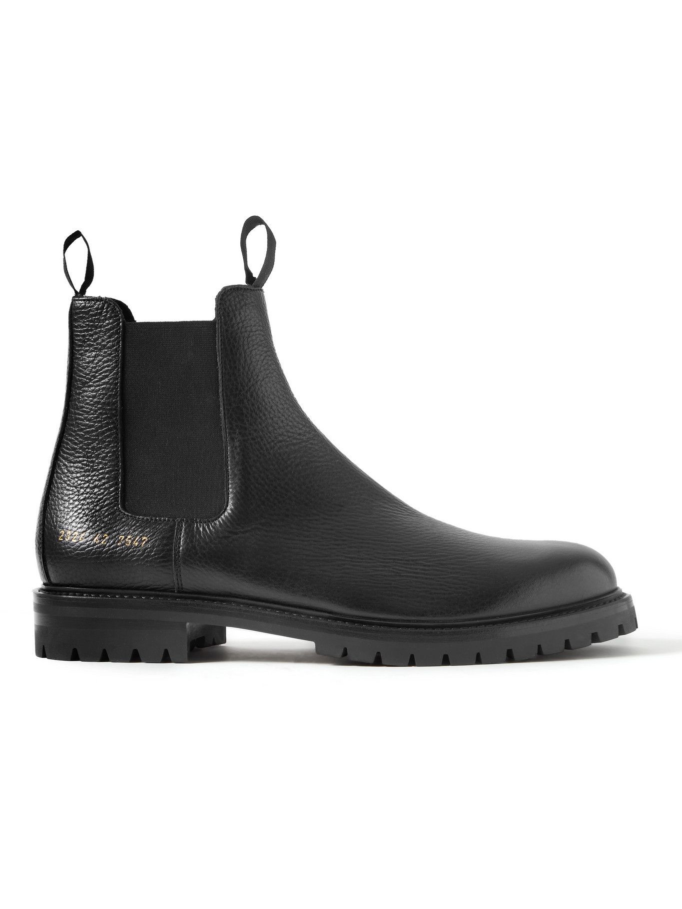 Photo: Common Projects - Full-Grain Leather Chelsea Boots - Black