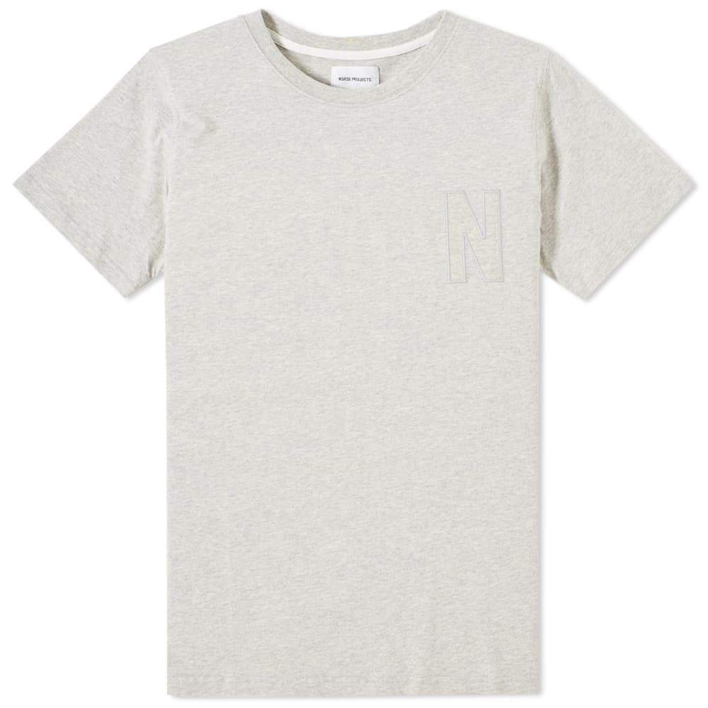 Photo: Norse Projects Niels Basic Logo Tee