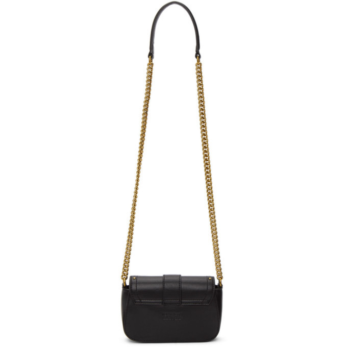 Versace Jeans Couture Black Small Rodeo Buckle Bag