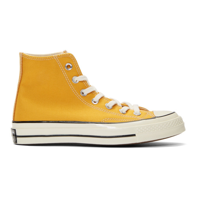 Photo: Converse Yellow Chuck 70 High Sneakers