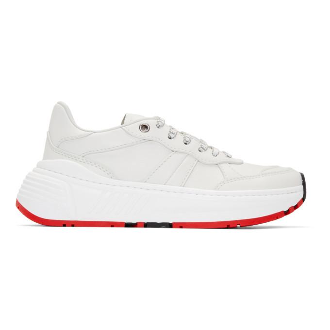 Photo: Bottega Veneta White Speedster Sneakers