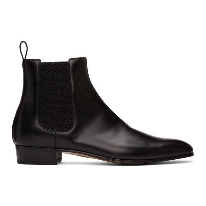 Photo: Gucci Black Double G Chelsea Boots