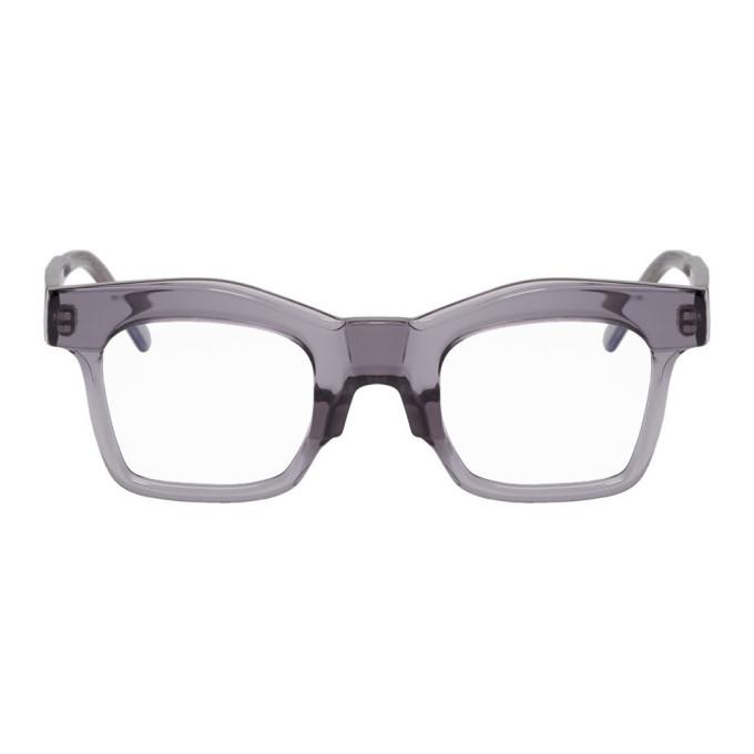 Photo: Kuboraum Grey K21 SK Glasses