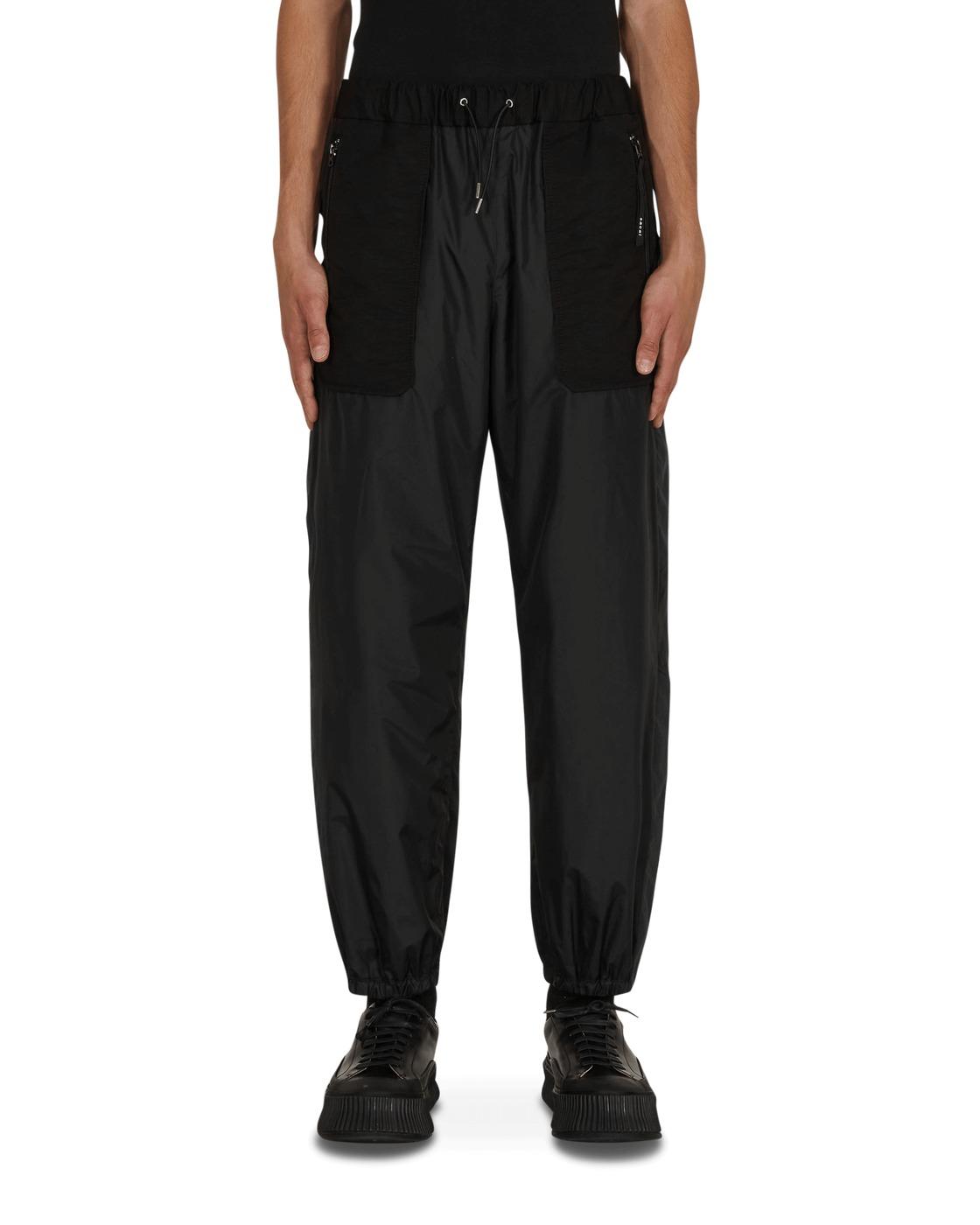 Sacai Nylon Trousers Black