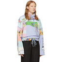 Martine Rose Multicolor Fleece Bongo Batwing Pullover