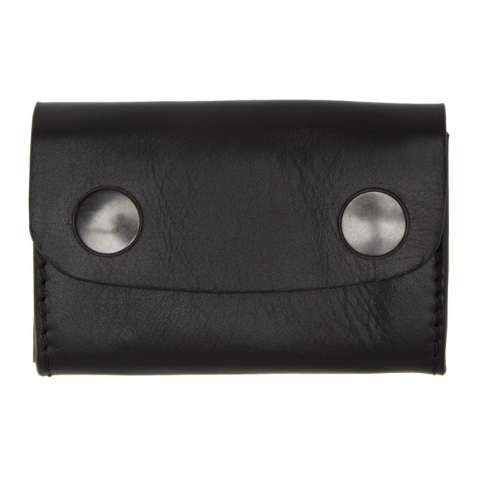 Photo: Ann Demeulemeester Black Bozen Card Holder