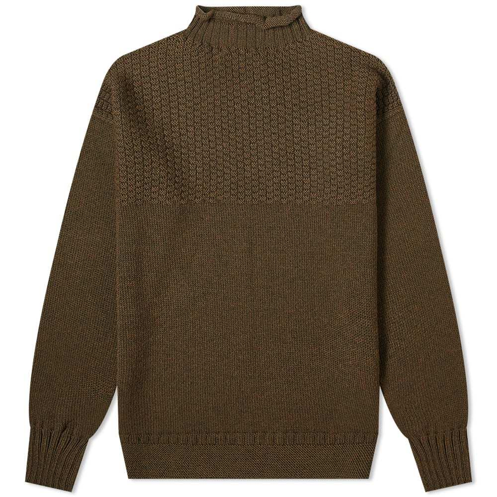 Photo: Margaret Howell Seamless Guernsey Knit