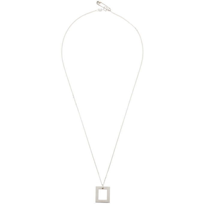 Photo: Bleue Burnham Silver The Window Pendant Necklace