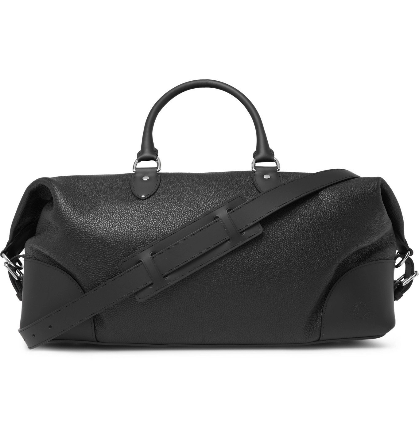 Photo: Globe-Trotter - Full-Grain Leather Holdall - Black