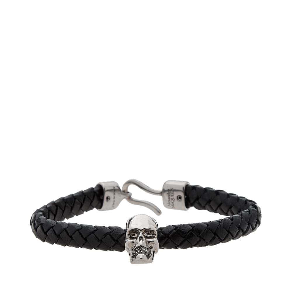 Photo: Alexander McQueen Leather Skull Bracelet