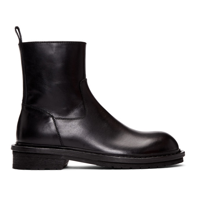 Photo: Ann Demeulemeester Black Tucson Zip-Up Boots