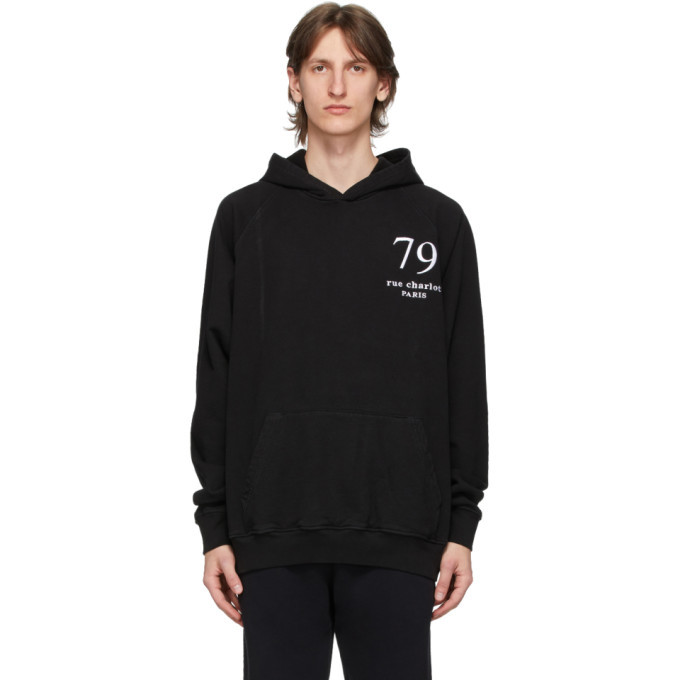 Photo: Enfants Riches Deprimes Black 79 Rue Charlot Hoodie