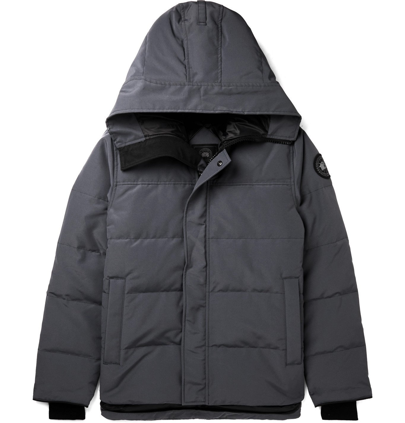 Photo: CANADA GOOSE - Black Label MacMillan Quilted Arctic Tech Hooded Down Parka - Gray