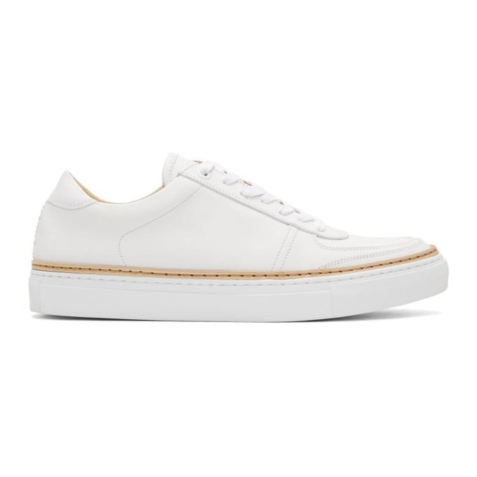 Photo: No.288 White Grand Sneakers