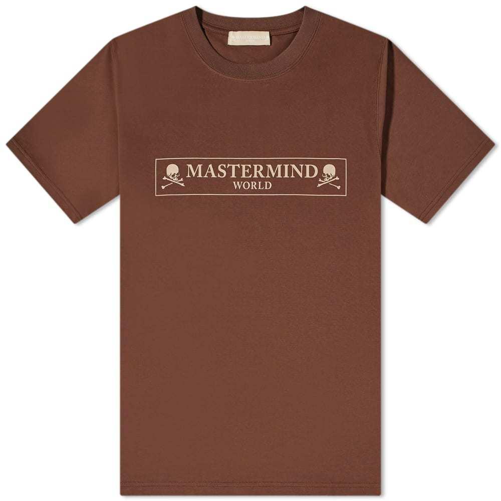 Photo: MASTERMIND WORLD Regular Box Logo Tee