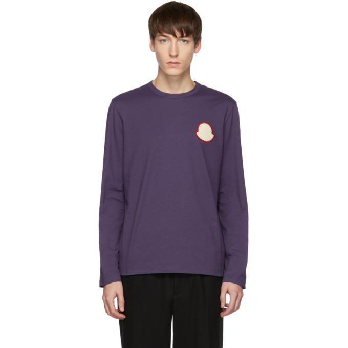 Photo: Moncler Purple Maglia Bell Long Sleeve T-Shirt