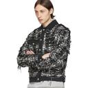 1017 ALYX 9SM Black Denim Spider Plaid Jacket