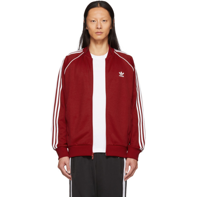 Photo: adidas Originals Red SST Track Jacket