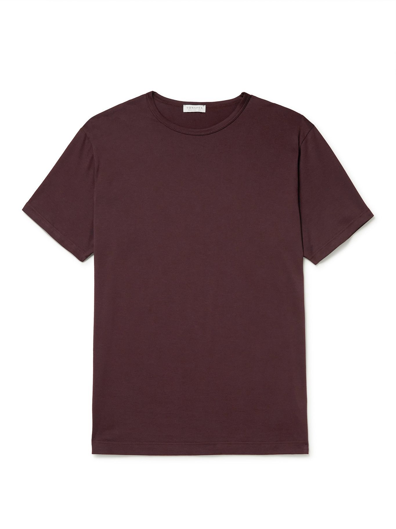 Photo: Sunspel - Cotton-Jersey T-Shirt - Brown