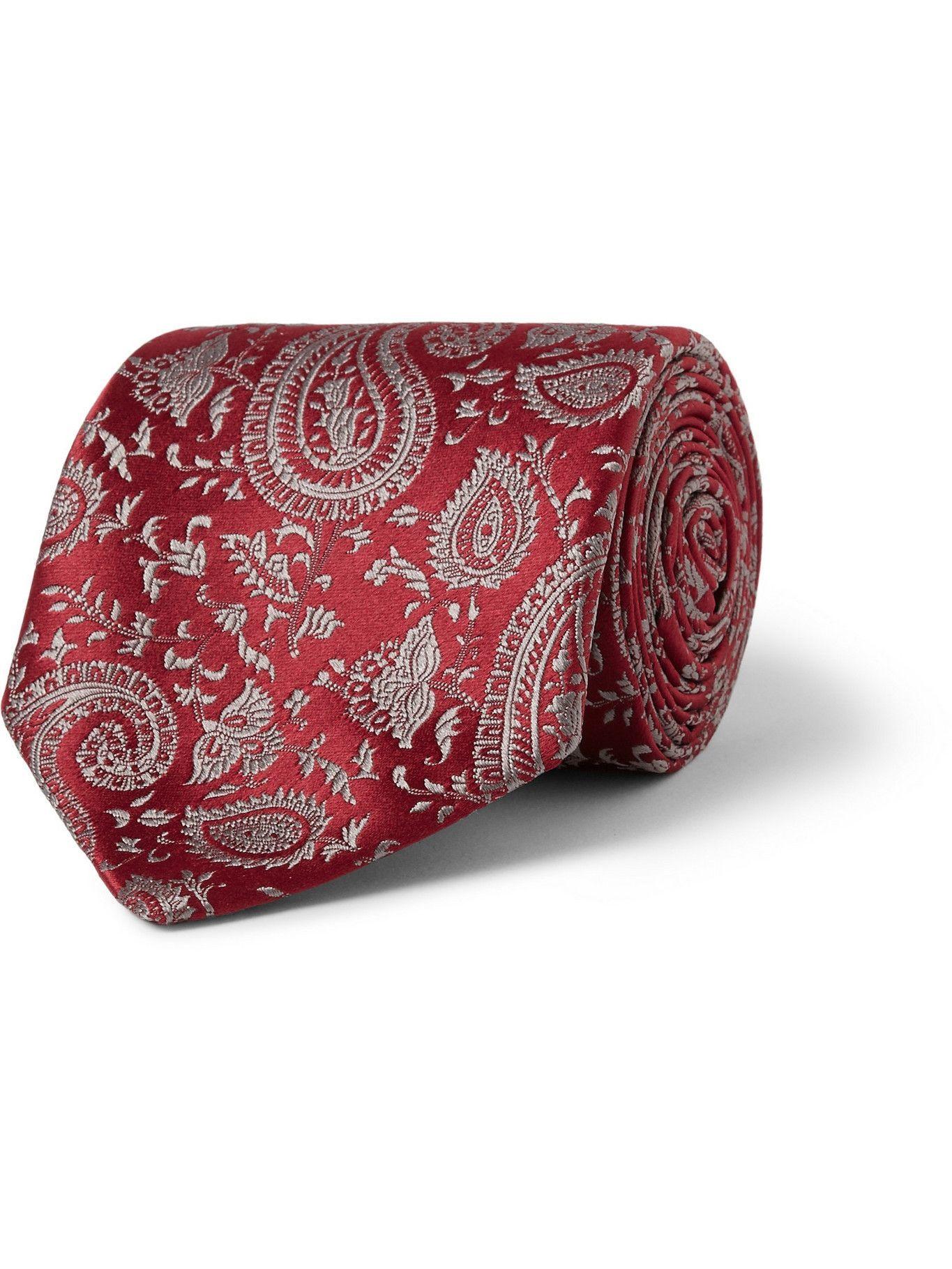 Photo: CHARVET - Paisley-Patterned Silk Tie
