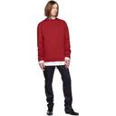 Raf Simons Red Head Sweatshirt