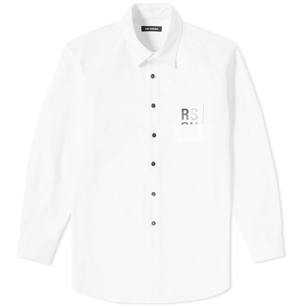Raf Simons Patch Denim Shirt