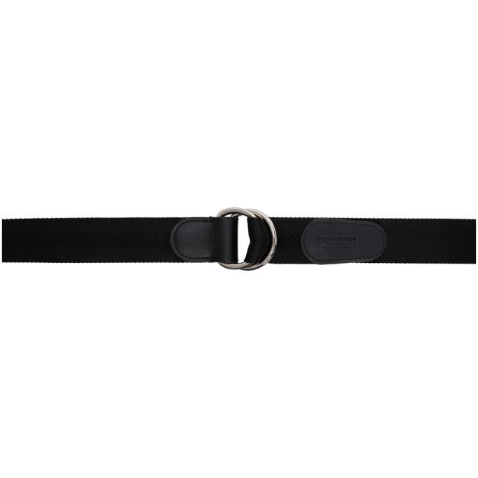 Giorgio Armani Black Ribbon Belt