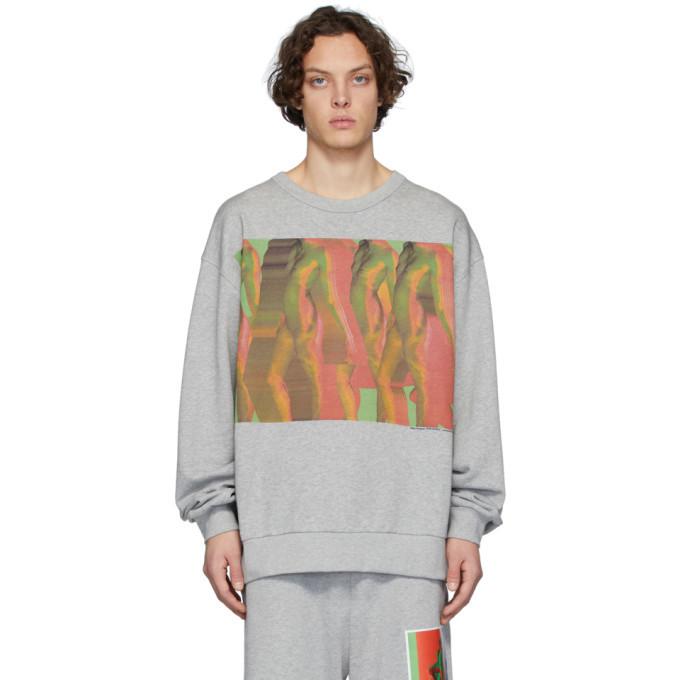 Photo: Dries Van Noten Grey Mika Ninagawa Edition Hoxto Sweatshirt