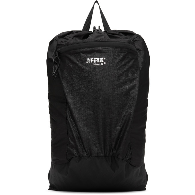 Photo: Affix Black Ripstop Backpack