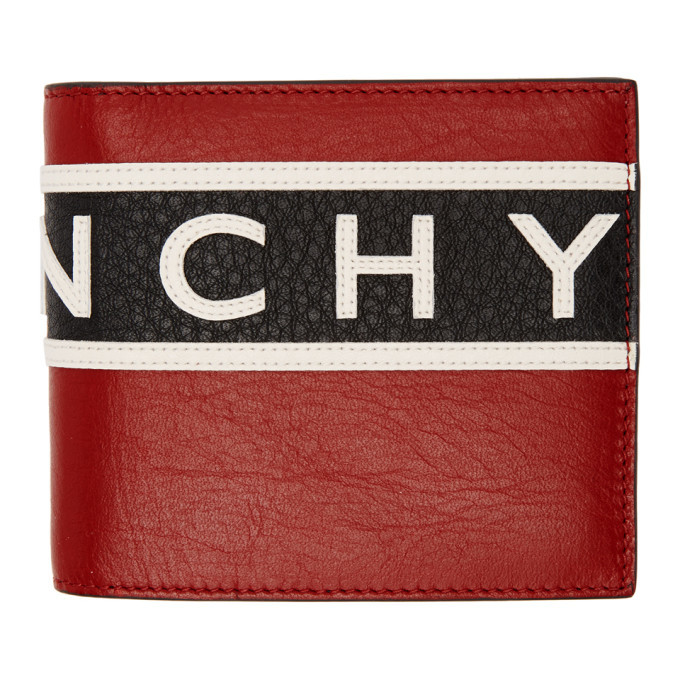 Photo: Givenchy Tricolor Reverse Logo Wallet