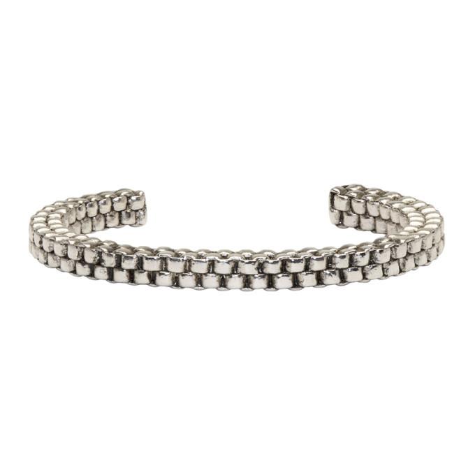 Photo: Balmain Silver Scoubidou Bracelet