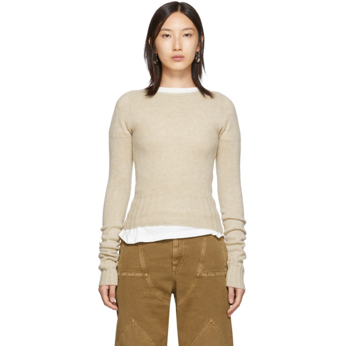 Photo: Lemaire Beige Fitted Sweater