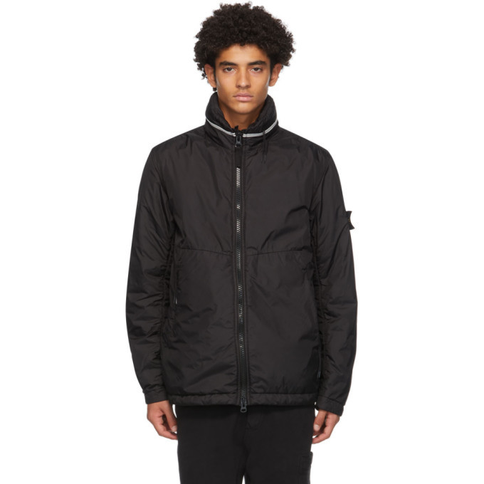 Photo: Stone Island Black Crinkle Reps NY Jacket