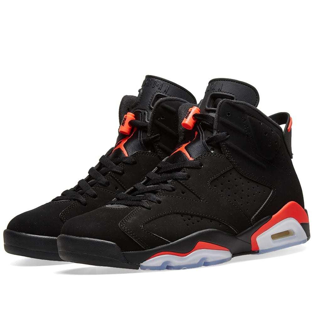 Photo: Air Jordan 6 Retro Black & Infrared