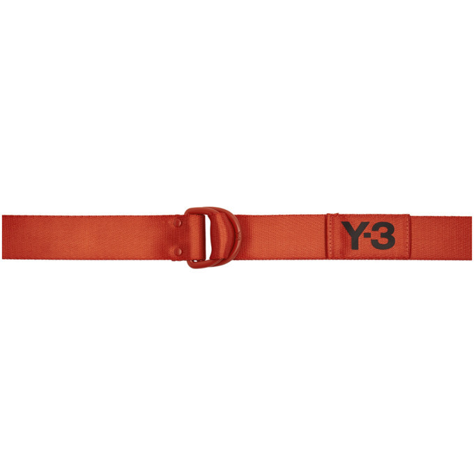 Photo: Y-3 Orange Logo Belt