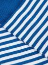SUNSPEL - Striped Stretch Cotton-Blend Socks - Blue