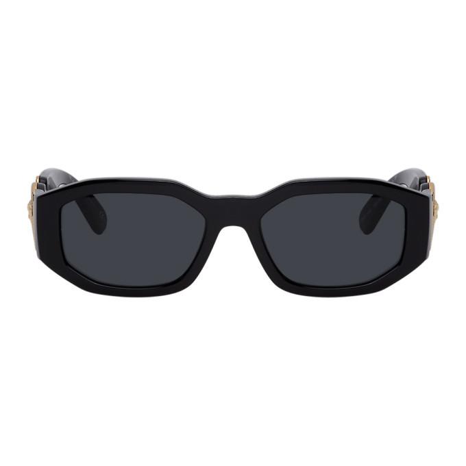 Photo: Versace Black Medusa Biggie Sunglasses