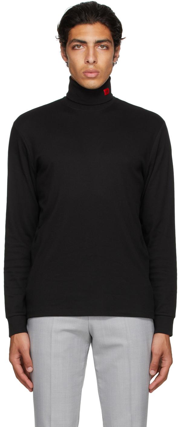 Photo: Hugo Black Derollo Long Sleeve T-Shirt