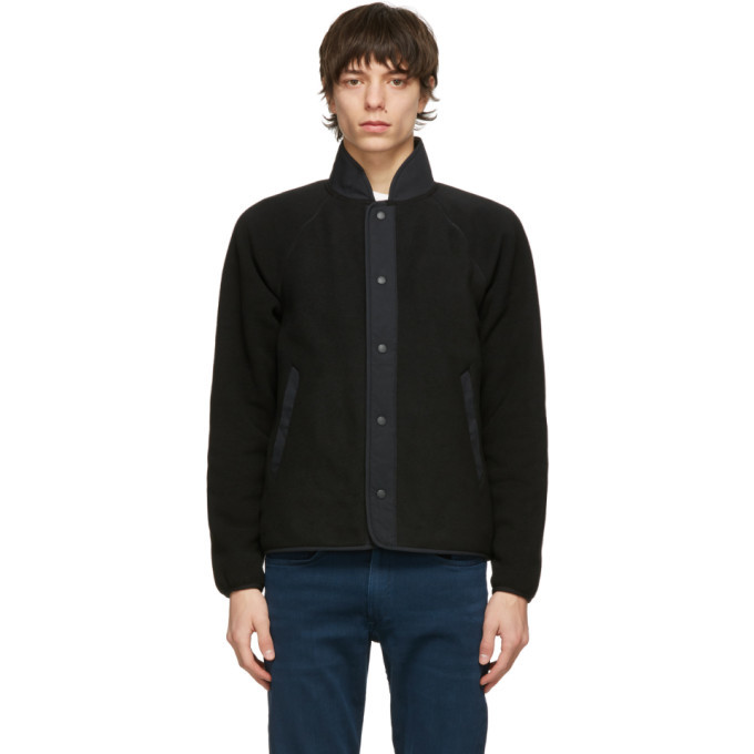 Photo: rag and bone Black Fleece Liner Jacket