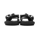 Sacai Black Rope Sandals